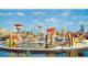 Gear No: pcLS17  Name: Postcard - Legoland Parks, Legoland Sierksdorf - Miniland, Civilia 2000, Stadt der Zukunft