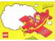 Gear No: pcfab1  Name: Postcard - Fabuland Red Airplane