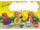 Gear No: pcfab4  Name: Postcard - Fabuland Bunny, Pig and Monkey