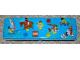 Gear No: pencilcase01  Name: Pencil Case, Town Minifigures Pattern - Metal