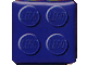 Gear No: pfmag06  Name: Magnet, Paul Frank Square with Blue 4 Studs Pattern