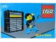 Gear No: pfstk05  Name: Sticker, Paul Frank - Minifigure on Stage with Guitar and '960'
