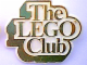 Gear No: pin001  Name: Pin, The Lego Club UK Badge, Gold Text, White Background