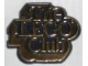 Gear No: pin003  Name: Pin, The Lego Club UK Badge, Gold Text, Black Background