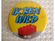 Gear No: pin046  Name: Pin, IK BEN WILD OP LEGO