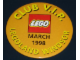 Gear No: pin055  Name: Pin, Legoland Windsor Club V.I.P. March 1998