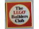 Gear No: pin078  Name: Pin, The Lego Builders Club UK Badge