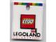 Gear No: pin083  Name: Pin, Lego Logo Square Red