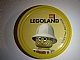 Gear No: pin101  Name: Pin, Legoland Adventurers Dr. Charles Lightning 2 Piece Badge