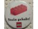 Gear No: pin107  Name: Pin, Stein gehabt! and Brick 2 x 4