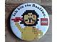 Gear No: pin119  Name: Pin, Animal Series - Ich bin ein Baulöwe. and Lion