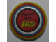 Gear No: pin121  Name: Pin, Perito em LEGO Pattern, Soft Vinyl
