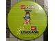 Gear No: pin171  Name: Pin, Lego Club Weekend Legoland Florida