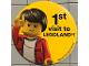 Gear No: pin175  Name: Pin, 1st Visit to Legoland!