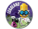 Gear No: pin234  Name: Pin, Legoland Mad Scientist 2 Piece Badge