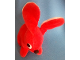 Gear No: plushrabbit3  Name: Duplo Bunny / Rabbit Small - White Ear Inside, Pupils Near Nose