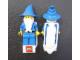 Gear No: pocketwizard  Name: Pin, Majisto the Wizard Minifigure, Pocket Clip