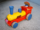 Gear No: pulltrain4  Name: Wooden Pull-Along Locomotive