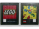 Gear No: puzlogo  Name: Slide Puzzle with LEGO Logo on Front and Minifig with Bricks on Back