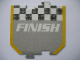 Gear No: racegametracks4  Name: Racers Game Track Piece Special Finish