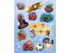 Gear No: s18ctys03  Name: Sticker, LEGO City Advent book 2018, sheet 3