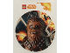 Gear No: s18sws02  Name: Sticker, Star Wars Solo Chewbacca