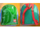 Gear No: satchel4  Name: Backpack Multicolor with Transparent Front with LEGO Logo and Beading
