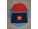 Gear No: satchel5  Name: Backpack Red, Black, and Blue with Lego Logo
