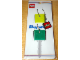 Gear No: skc01  Name: 2 x 2 Brick - Soft Key Cover Key Chain Set - Yellow and Green
