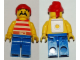Gear No: snappirate  Name: Pin, Pirate Minifig, Snap-on