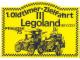 Gear No: st75llde  Name: Sticker, Legoland Sierksdorf 1. Oldtimer Zielfahrt Pfingsten '75