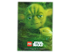 Gear No: sw1slv2  Name: Star Wars Trading Card Game Series 1 - Card Sleeve Yoda