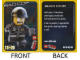 Gear No: tc14tlm13  Name: The LEGO Movie 13 - Bad Cop