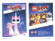 Gear No: tc19tlm25  Name: The LEGO Movie 2, Card #25 - Unikitty