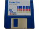 Gear No: tclogofloppy5  Name: Instruction Floppy Disk 3.5in for LEGO TC logo Master Disk, Apple Version