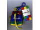 Gear No: tinybackpack  Name: Backpack Multicolor Small with String and Clip