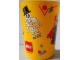 Gear No: tumbler3  Name: Food - Cup / Mug, Minifigure Pattern Plastic Tumbler