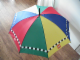 Gear No: umbrella  Name: Umbrella, Multi-Color with Lego Logo