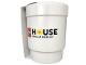 Gear No: 853709  Name: Food - Cup / Mug, LEGO House Upscaled