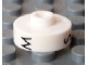 Gear No: bead001pb27  Name: Bead, Cylinder Short, Flat Edge with Black M S Z Pattern