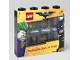 Gear No: 4065  Name: Minifigure Display Case, Small - For 8 Minifigures, The LEGO Batman Movie