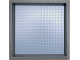 Gear No: 5005359a  Name: Cardboard Display Frame with Mounted 32 x 32 Dark Bluish Gray Baseplate
