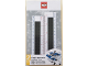 Gear No: 52398  Name: Ruler, Buildable Ruler - Black Plates with Blue Baseplates
