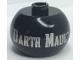 Gear No: bead003pb042  Name: Bead, Globular with SW 'Darth Maul' Pattern