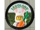 Gear No: pin135  Name: Pin, Legoland Discovery Center Bunny 2 Piece Badge