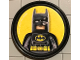 Gear No: pin149  Name: Pin, Batman 2 Piece Badge