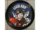 Gear No: pin188  Name: Pin, Legoland Spider Lady 2 Piece Badge