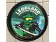 Gear No: pin210  Name: Pin, Legoland Discovery Center Ninjago Lloyd 2 Piece Badge