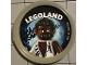 Gear No: pin196  Name: Pin, Legoland Werewolf 2 Piece Badge
