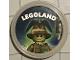 Gear No: pin207  Name: Pin, Legoland Scarecrow 2 Piece Badge
